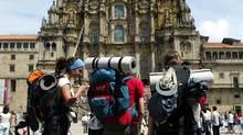 Connecting with other people is the key to great backpacking odysseys. (MIGUEL VIDAL/REUTERS)
