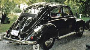1952 split-window Volkswagen Beetle