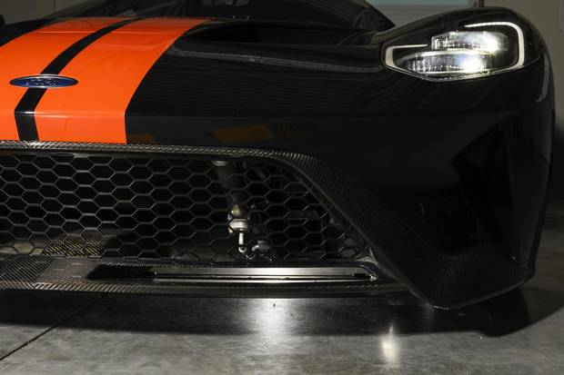 In track mode, the GT's active dynamics system lowers the ride height.