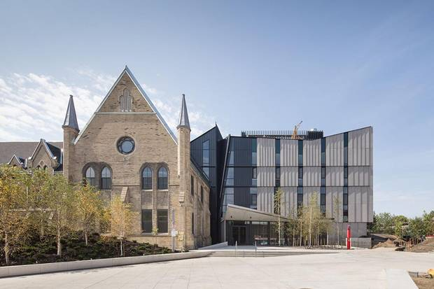 The John H. Daniels Faculty of Architecture, Landscape, and Design at Knox College, part of the University of Toronto.