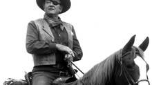 John Wayne starred in True Grit. (Everett Collection)
