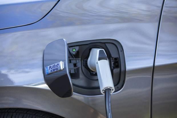 2018 Honda Clarity Plug-In Hybrid.