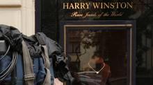 The Harry Winston store in Paris. (BENOIT TESSIER/REUTERS)