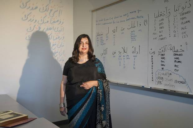 Seemi Ghazi, 52. Vancouver. Classical Arabic instructor at the University of British Columbia. Canadian, American and British.