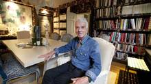 British interior designer Nicky Haslam has opened an office in Toronto. (Deborah Baic/The Globe and Mail)