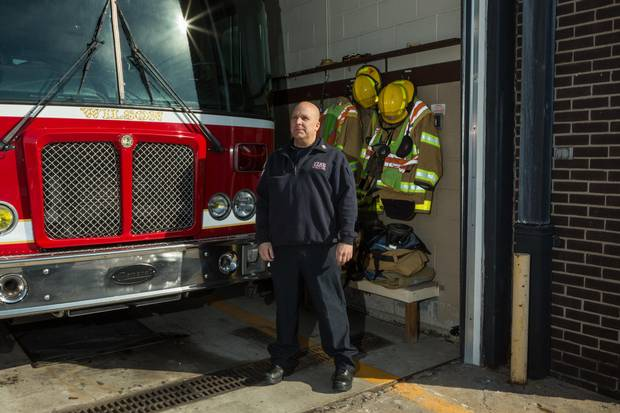 Donny Hockman, a firefighter in the borough of Wilson, Penn., says he voted for Mr. Trump. 'Five years from now, I could be eating crow and saying, you know what, that was the biggest mistake of my life,' he says. 'But hopefully I'm not wrong.'