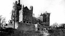 Casa Loma seen under construction in this file photo c. 1911/1912. (William James/City of Toronto Archives/William James/City of Toronto Archives)