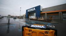 S&P downgrades Rona debt to junk status (Christinne Muschi For The Globe and Mail)