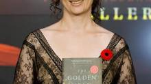 Annabel Lyon at the Giller Prize gala in Toronto, November 10, 2009. (CP)