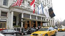 The Park Plaza hotel in New York. (Diane Bondareff/AP)
