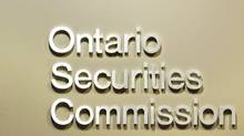 The Ontario Securities Commission.(Photo by Peter (PETER POWER/THE GLOBE AND MAIL)