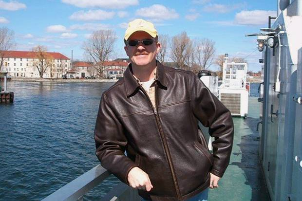 WO Florian on the Wolfe Island, Ont., ferry in 2006.
