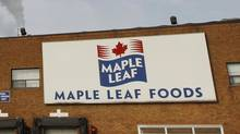 Maple Leaf Foods Hamilton wiener plant on February 17, 2011. (Peter Power/Peter Power/The Globe and Mail)