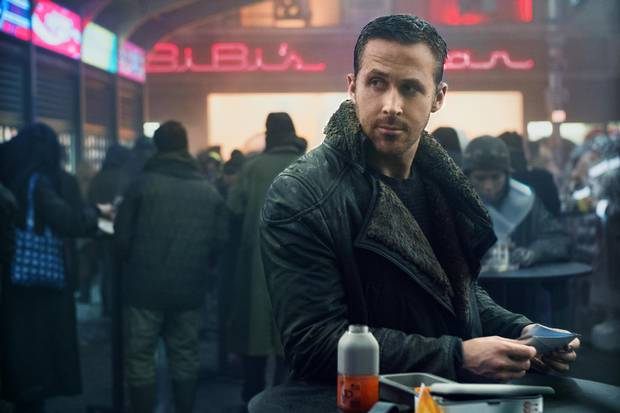 Ryan Gosling in Blade Runner 2049.