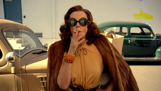 Susan Sarandon is seen as Bette Davis in FX's Feud, which also stars Jessica Lange as Davis's old enemy, Joan Crawford.