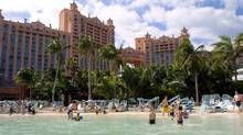The Atlantis resort on Paradise Island in the Bahamas is one of the Caribbean's largest and best-known destinations. (Anonymous/AP)