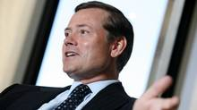 File photo of Blake Goldring, chairman and CEO of AGF Management. (Yvonne Berg For The Globe and Mail)