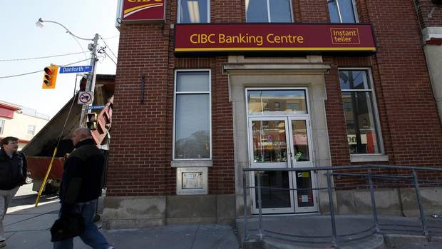 CIBC: Number of branches in Canada: 1097 Number of branches open on Sundays: 107 Number of branches open on Saturdays: 637 (Deborah Baic/The Globe and Mail)