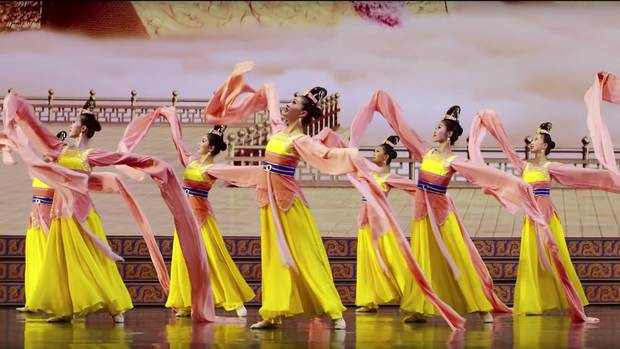 Based in New York, Shen Yun has grown into a massive organization with five troupes that tour the world simultaneously.