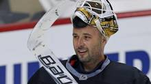Pittsburgh Penguins goalie Tomas Vokoun (GENE J. PUSKAR/AP)