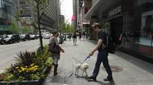 Retail rental rates on Toronto tony Bloor Street West barely nudged upward – although the latter is still the country's most expensive street for retailers at $315 a square foot. (Fred Lum/The Globe and Mail/Fred Lum/The Globe and Mail)