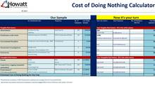 The Cost of Doing Nothing Calculator (Howatt HR Consulting/The Globe and Mail)