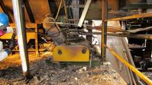 Babine Sawmill photos from the Work Safe BC INCIDENT INVESTIGATION REPORT