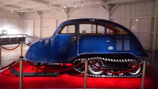 During its first winter of production in 1936, the Bombardier B7 snowmobile sold eight units before a patent was secured with the Canadian government.