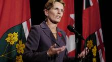 Ontario Aboriginal Affairs Minister Kathleen Wynne is shown here in a photograph from October 2007. (Tibor Kolley)