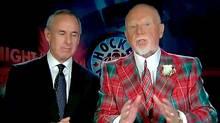 Hockey Night In Canada: Coach's Corner.