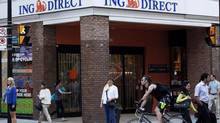 An ING Direct café in Toronto (MICHELLE SIU/THE CANADIAN PRESS)