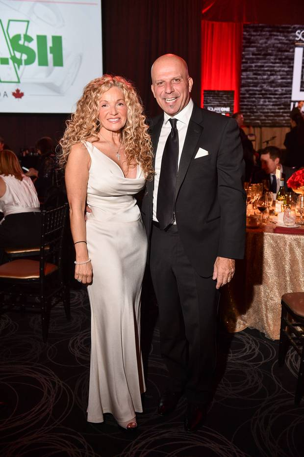 Event co-chair Maria Finelli and Pat Finelli.