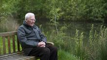 James Lovelock at his home in England. (Jim Wileman/The Guardian)