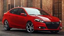 2013 Dodge Dart. (Chrysler)