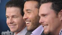 "From left to right, actors Mark Wahlberg, Jeremy Piven and Kevin Dillon attend the ""Entourage"" Season 8 premiere at the Beacon Theatre on July 19, 2011 in New York. (Michael Loccisano/Michael Loccisano/Getty Images)"
