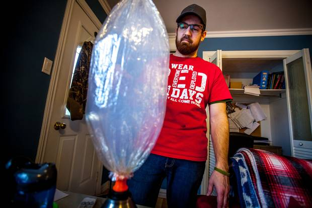 Mr. McNeil uses a vaporizer to ingest medical cannabis to deal with his disabilities.