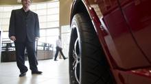 Pat Priestner, CEO of AutoCanada, is shown at one of his dealerships in Edmonton in a file photo. (Ian Jackson For The Globe and Mail)