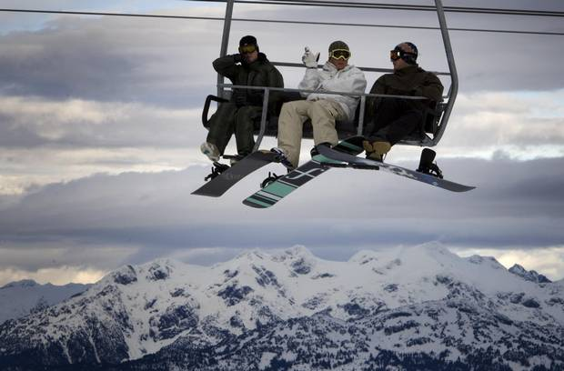 Vail Resorts, which bought Whistler Blackcomb, above, made roughly half its $1.6-billion revenue on lift tickets in fiscal 2017.