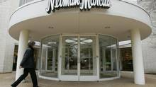 A shopper enters a Neiman Marcus store in Oak Brook, Ill., a suburb of Chicago, in this file photo. (JOHN GRESS/REUTERS)