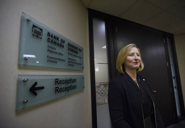 Ms. Wilkins at the Bank of Canada's Toronto offices in 2015.