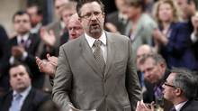 Former federal cabinet minister Chuck Strahl cannot campaign for the B.C. Liberals due to his current position as head of the federal Security Intelligence Review Committee, the B.C. Conservatives are arguing. (Chris Wattie/Reuters)