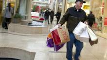 Shoppers at Sherwood Gardens shopping mall in Toronto, Ont. Dec. 22/2011. (Kevin Van Paassen/The Globe and Mail)