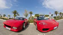 At Galleria Ferrari in Maranello, Italy visitors will find some of the most famous Ferraris on display.