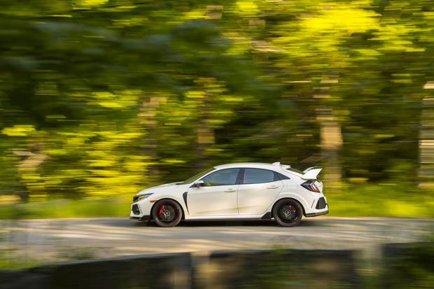 The Type R costs $40,890 and comes fully loaded.