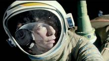 An astronaut's (Sandra Bullock) walk in space turns terrifying after debris crashes into her space shuttle in Gravity. Many other TIFF films this year deal with weightlessness of a more abstract variety.