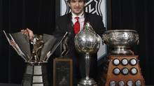 A selection of NHL awards