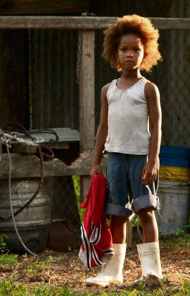 BOOTS OF THE SOUTHERN WILD: In Beasts of the Southern Wild, Benh Zeitlin's bayou fantasy/drama, a pair of white galoshes is all that protects five-year-old Hushpuppy (a precocious Quvenzhané Wallis, who is nominated for the best actress Oscar) from the soggy misery around her. They're also delightfully Mod. Apocalypse chic, anyone? – Amy Verner (Mary Cybulski/AP)
