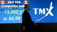 The Goldman Sachs report says there are three good reasons why Canadian markets follow U.S. cues. (Kevin Van Paassen/The Globe and Mail/Kevin Van Paassen/The Globe and Mail)