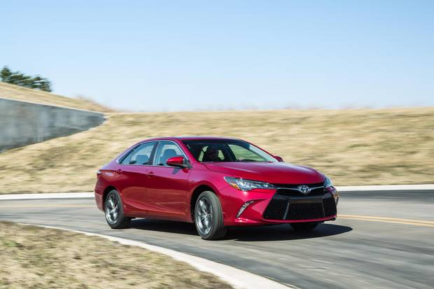 The 2015 Toyota Camry has a roomy interior, but isn't as engaging to drive as its rivals.