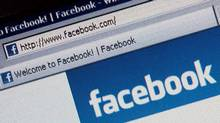 Photo illustrationof the social networking site Facebook (Dan Kitwood/Getty Images)